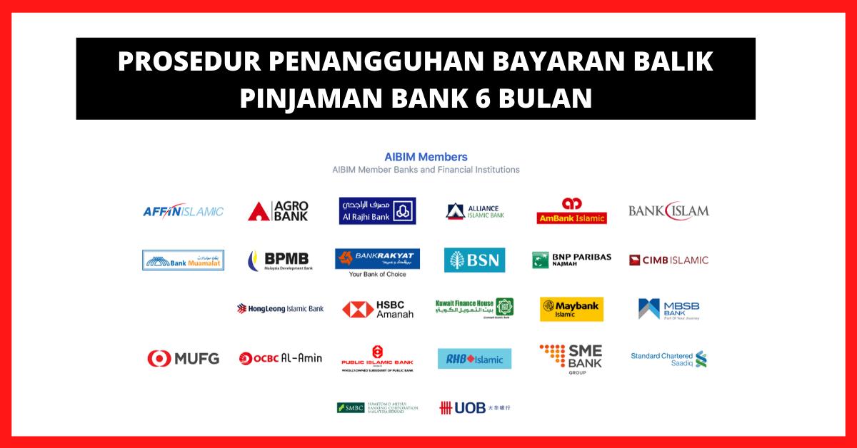 Permohonan Penangguhan Bayaran Pinjaman Bank 6 Bulan Covid 19