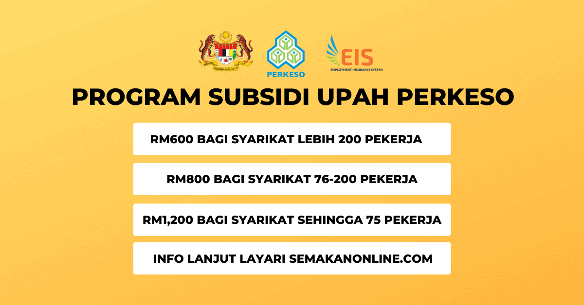 program subsidi upah perkeso